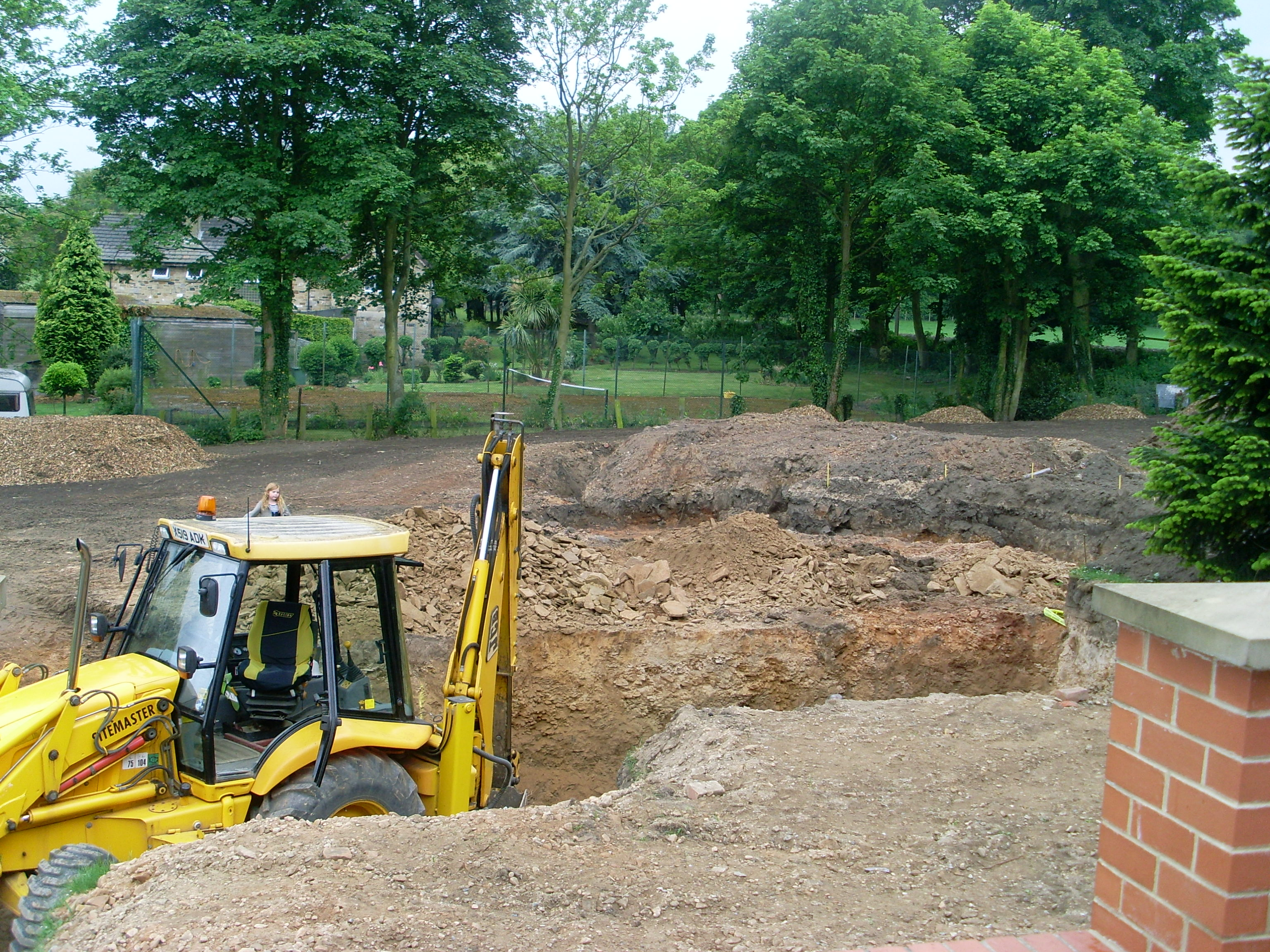 building services groundworks